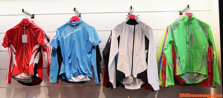 Endura 2015-ös mezek és kabátok