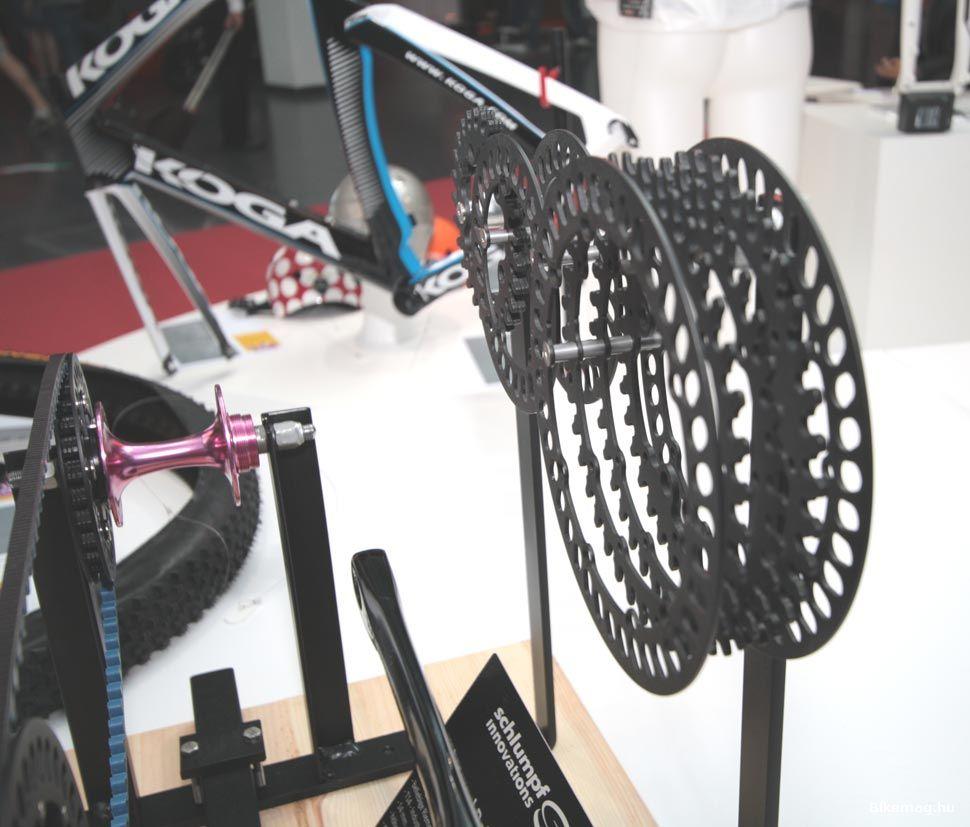 Eurobike Award - SCHLUMPF bordásszíj rendszer