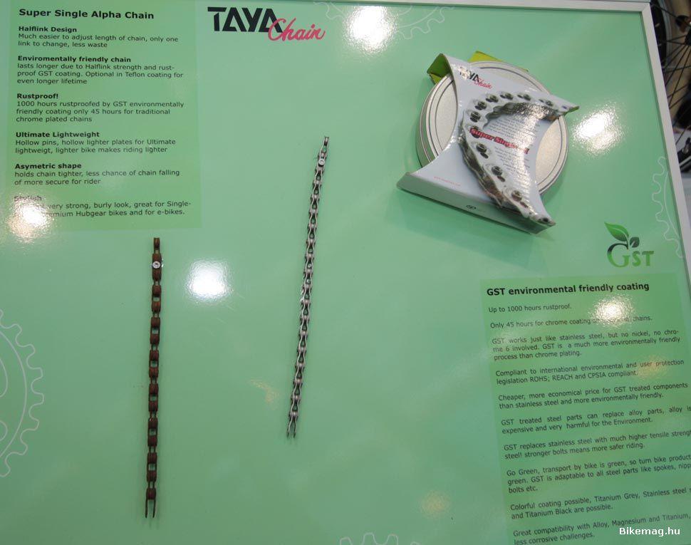 Eurobike Award - a TAYA konstrukciója