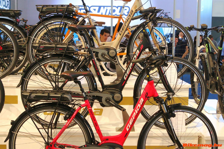 A Pedelec kerékpárok piacán a technika fejlődése határozza meg a kínálatot...