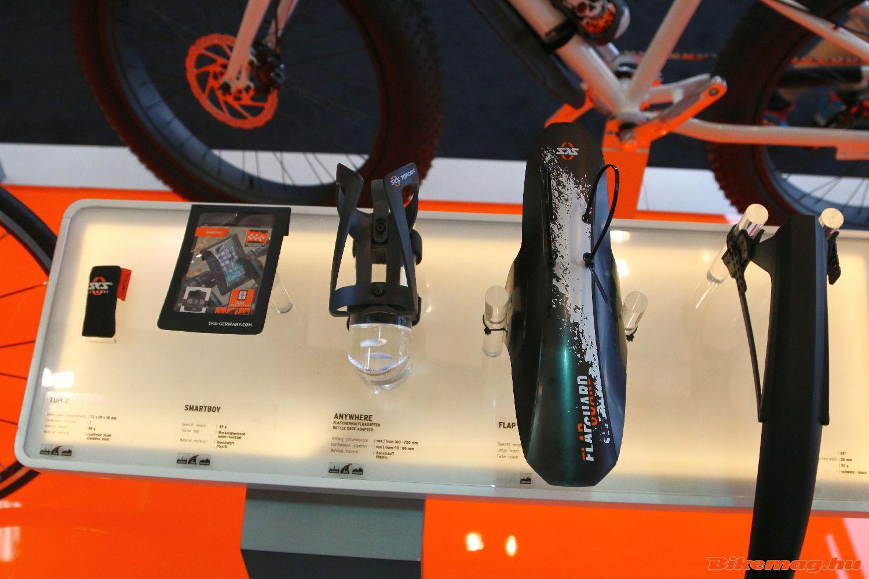 Sárvédők és egyéb kerékpáros kiegészítők széles kínálata az SKS standon!