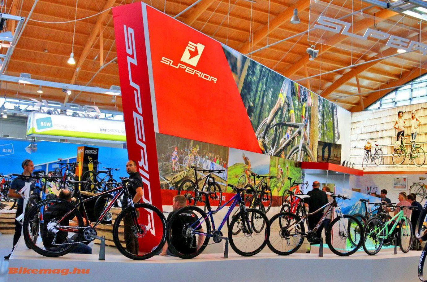 Az Eurobike standjuk is egy vetető márkához méltó!