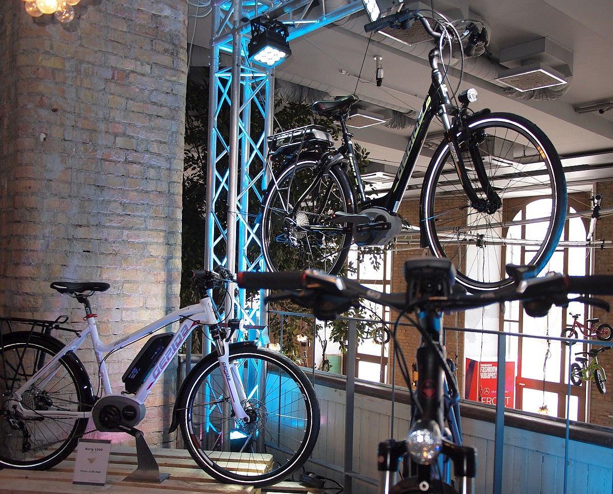 Különböző Gepida pedelec kerékpárok