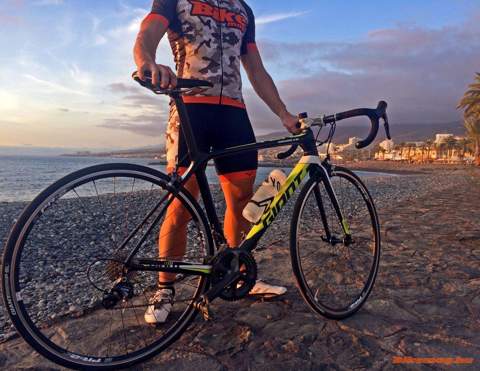 Giant TCR Advanced kerékpárteszt