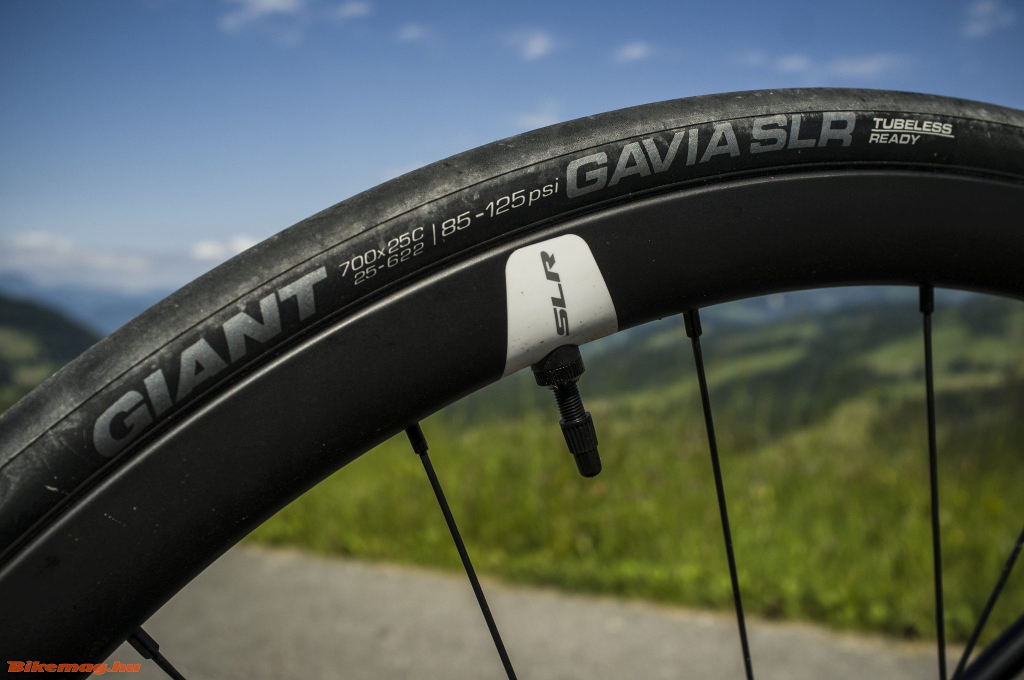 Giant TCR Advanced Pro Disc - karbon felnik tubeless gumikkal