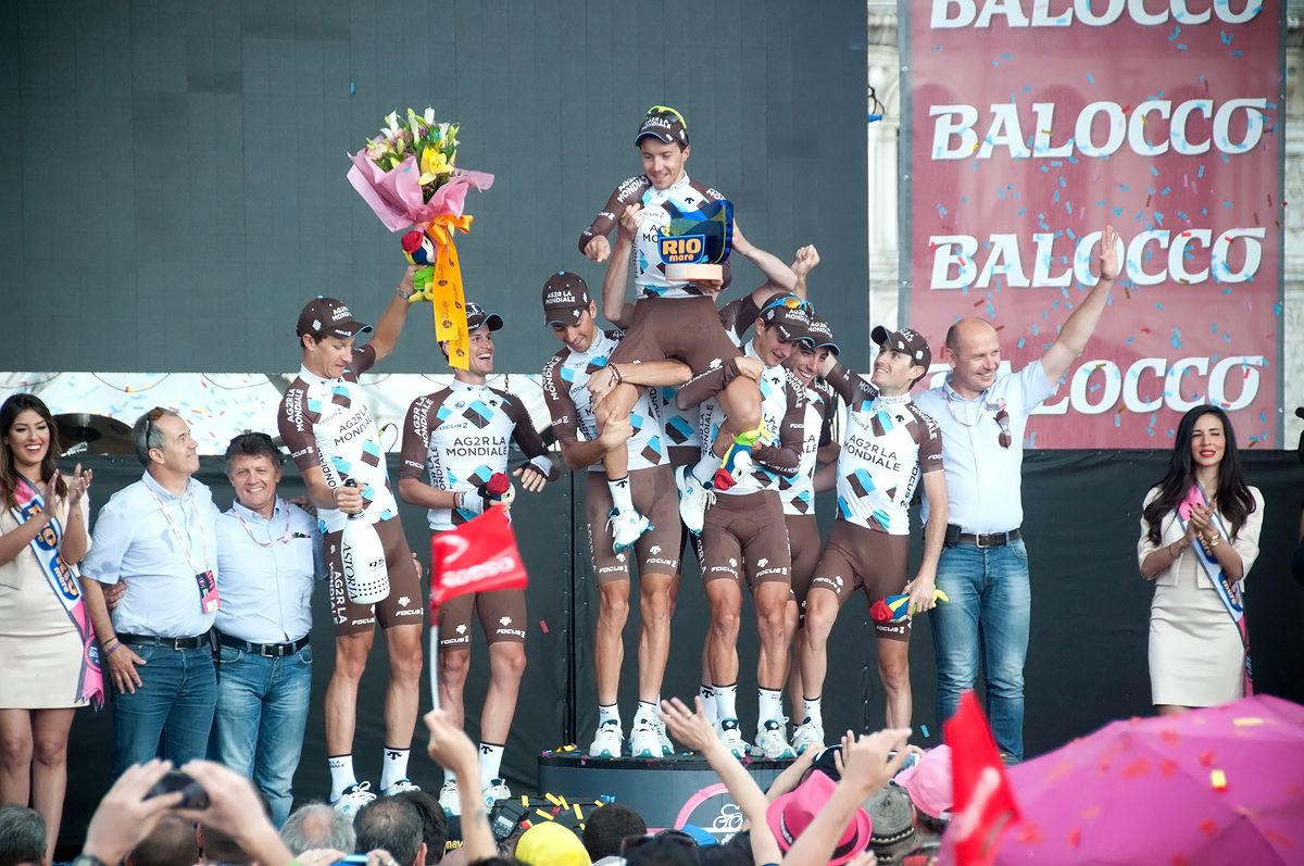 Giro d'Italia a helyszínen (Fotók: Nehézy László)