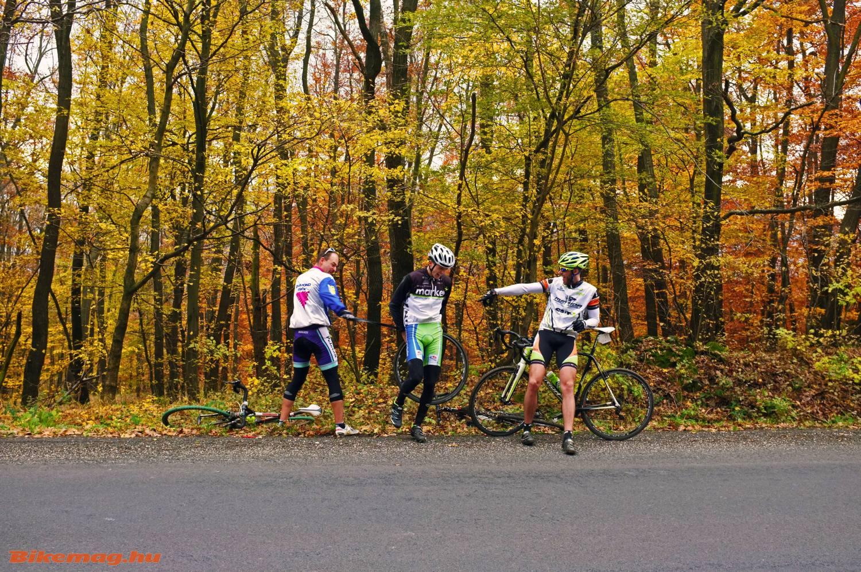 A gravel biking során legtöbb defektet elszenvedő büntetést érdemel...