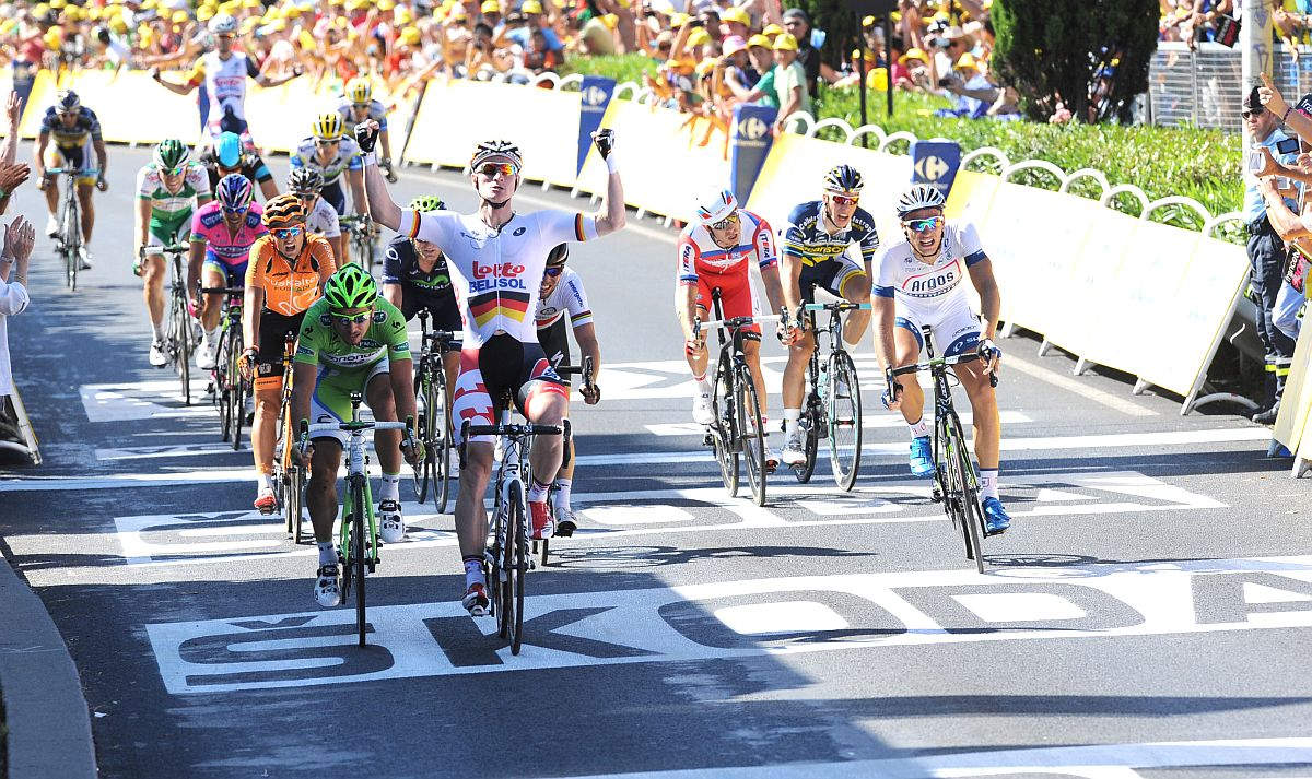 Greipel idei első győzelme a Touron (Fotó: Stefano Sirotti - sirotti.it)