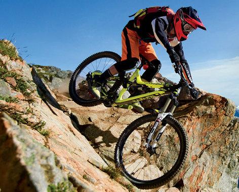 Extrém kerékpározáshoz speciális zsákok állnak rendelkezésre...