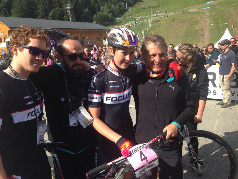 Helen Grobert és a Focus XC csapat