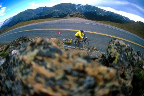 Kilométerfalás a Sziklás-hegységen keresztül