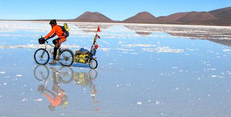 200 kilométer a sómezőn - Bolívia