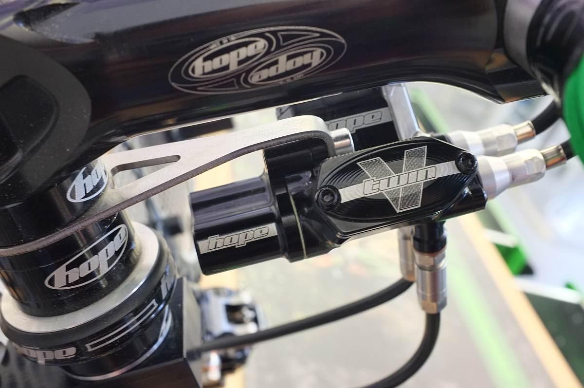Hope cyclocross hidraulikus fékátalakító
