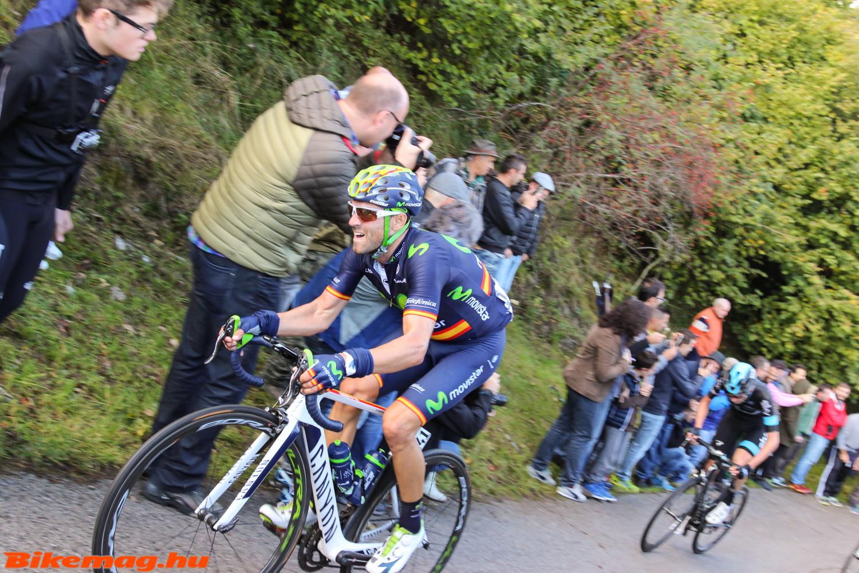 Alejandro Valverde küzd a leszakadás ellen