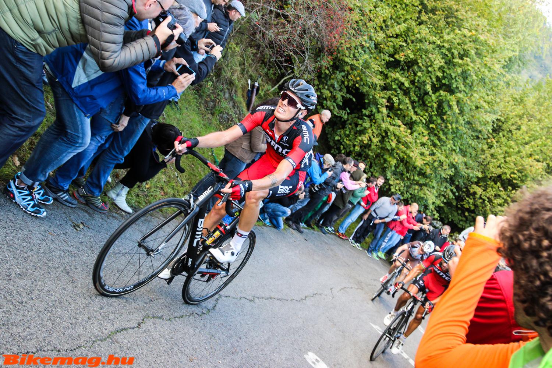 A BMC csapata nem tudott beleszólni a verseny alakulásába, Alessandro Da Marchi sem élvezte épp a helyzetet