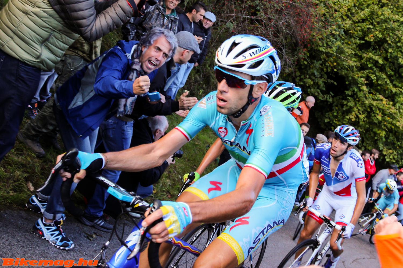 Nibaliért megőrülnek az olasz szurkolók, vasárnap ismét kiváló teljesítményt nyújtott