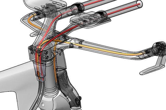 Vázba integrált vezetékek