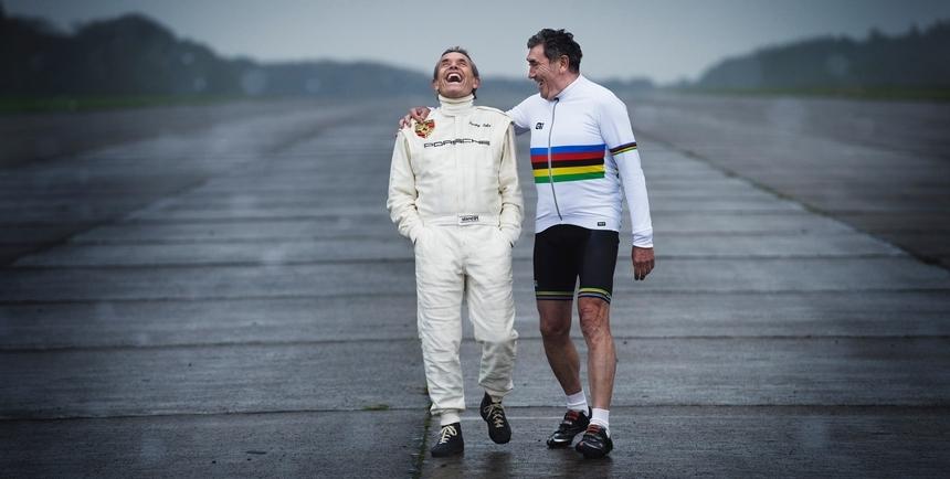 Merckx és Ickx a való életben is barátok voltak.