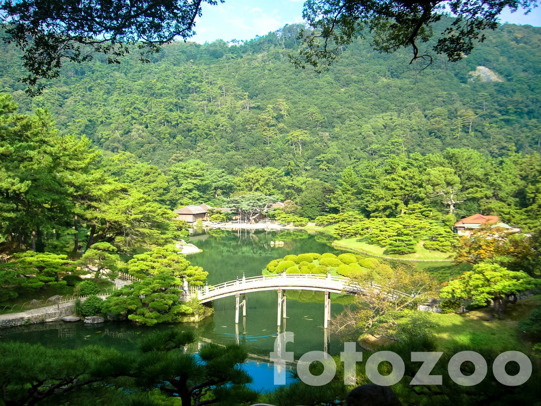Takamatsu legnagyobb látványossága, a káprázatos Ritsurin Koen.