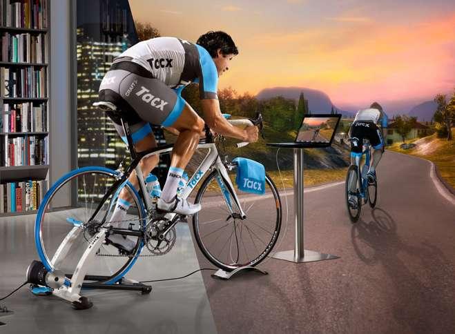 A csúcs a virtuális kerékpáros tréner