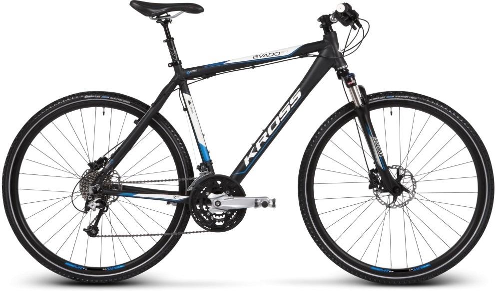 A cross filigránabb, sportos kinézetű kerékpár