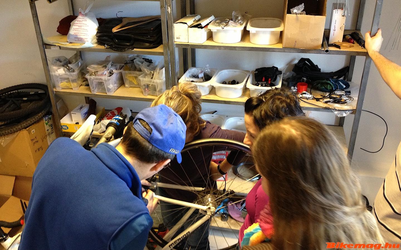 Megtanulod a kerékpár alapvető karbantartási, javítási metódusait.
