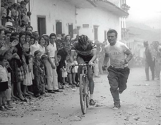 Kolumbiai kerékpárverseny nem is olyan régen: a kerékpártechnika is hagy maga után kívánni valót azon a vidéken!
