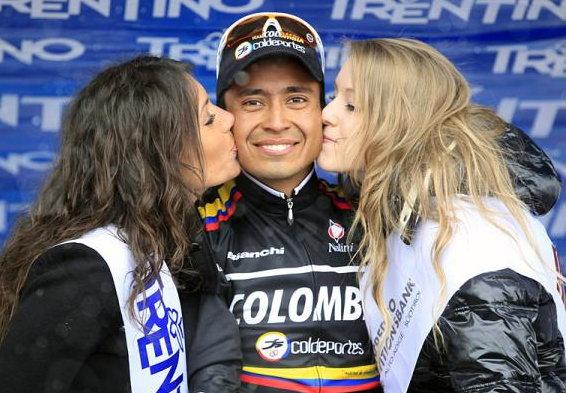 Darwin Atapuma megszerezte a Columbia nemzeti profi csapat első WorldTour győzelmét...