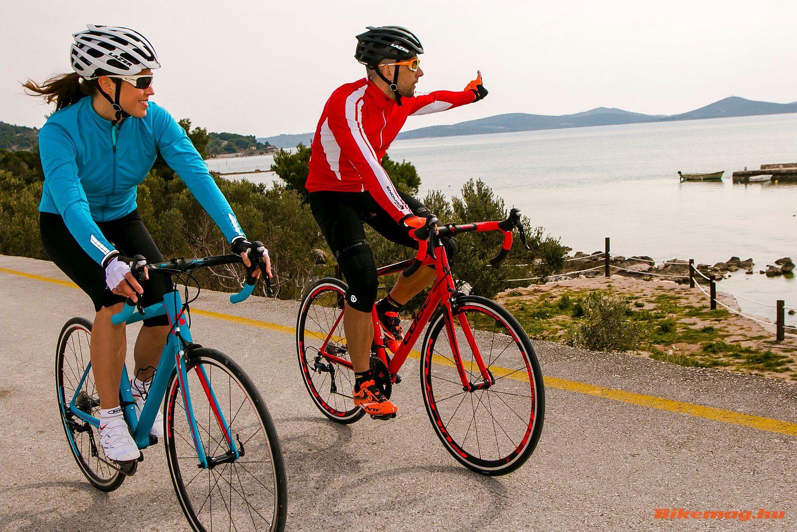 Komfort országúti kerékpárok: egyszerűen csak kikapcsolódásra