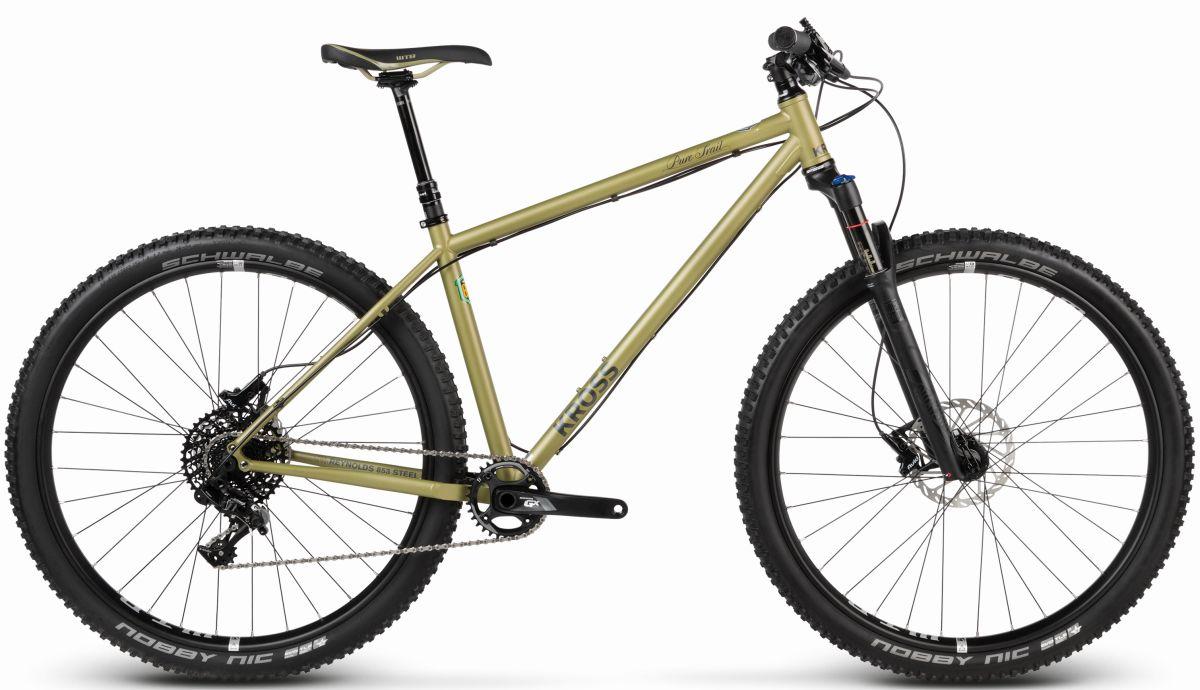 A Pure Reynolds csöves MTB merevfarú, 650B+ kerékszettel is elérhető Smooth Trail modellnév alatt.