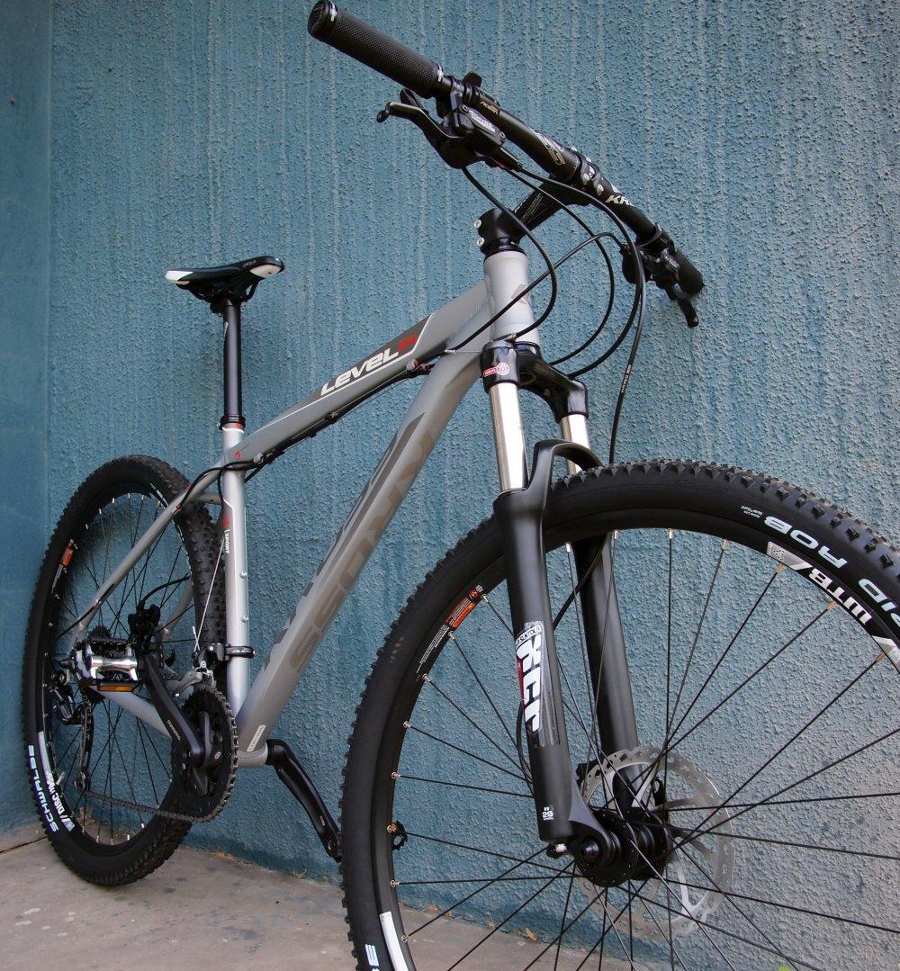 Sezerencsére a Level B4 esetében a teló sem húzza le a kerékpár teljesítményt...