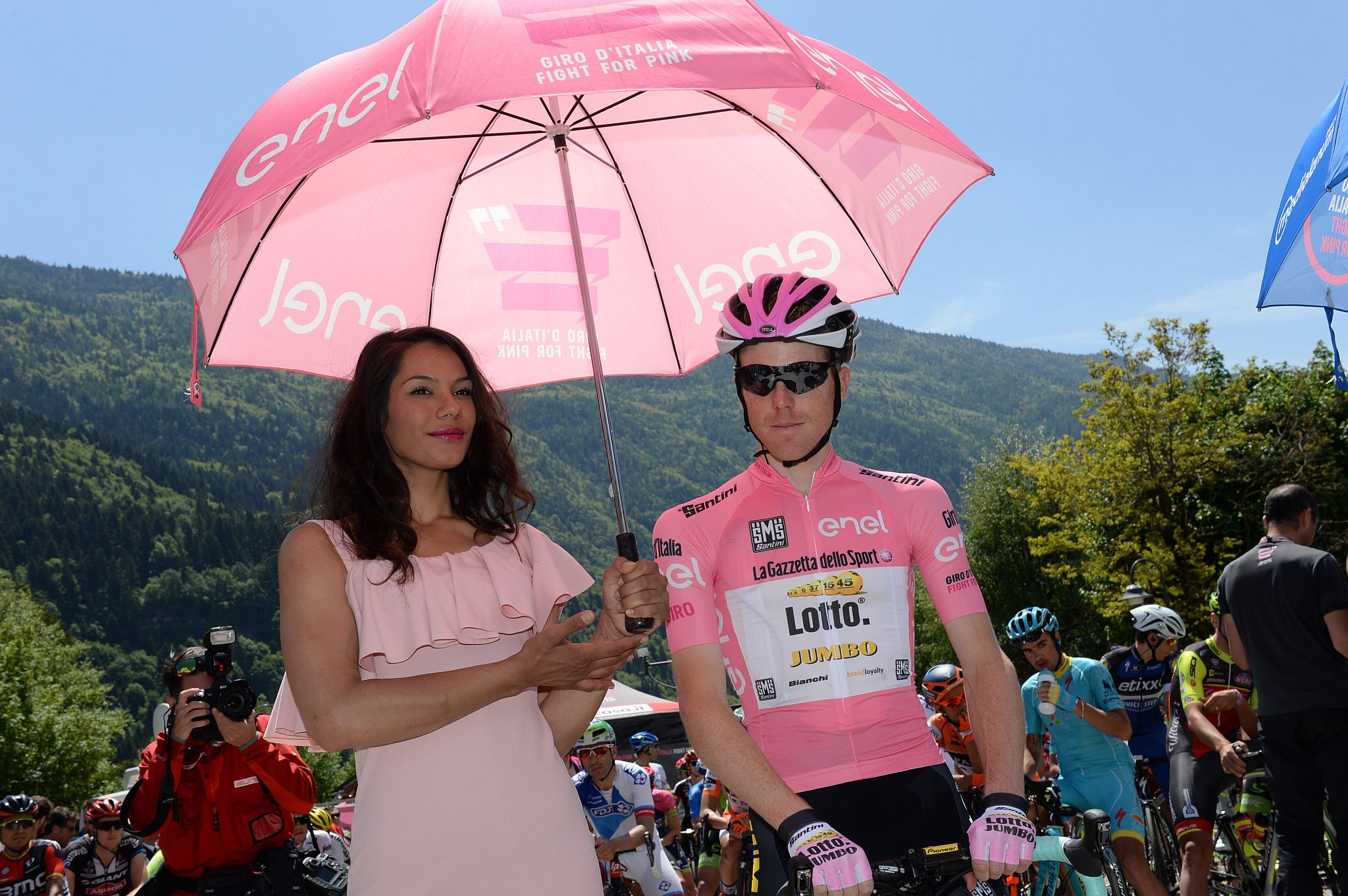 25-05-2016 Giro D'italia; Tappa 17 Molveno - Cassano D'adda; 2016, Lotto Nl - Jumbo; Kruijswijk, Steven;