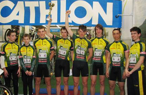 A győztes KSI csapata