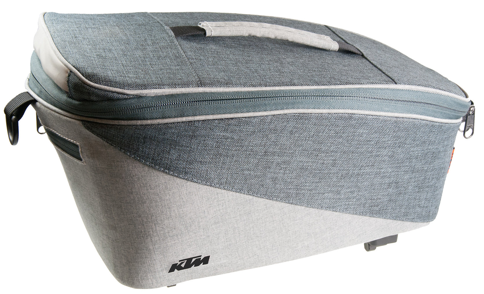 Stílusos gyorsrögzítős csomagtartó táska a KTM széles kínálatából...