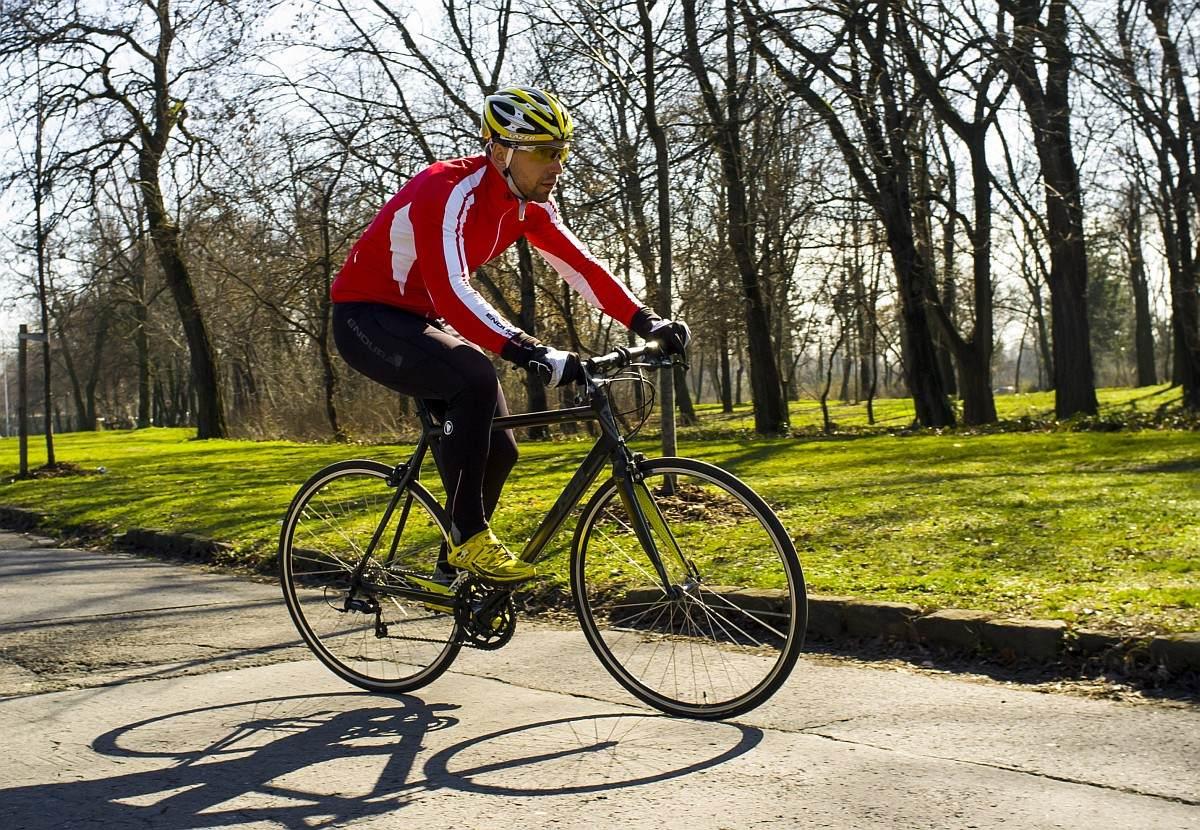 Egy KTM kerékpár egyszerűen sportolásra