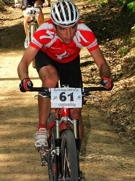 A 6 körös futamban Blazsó Márton volt a leggyorsabb