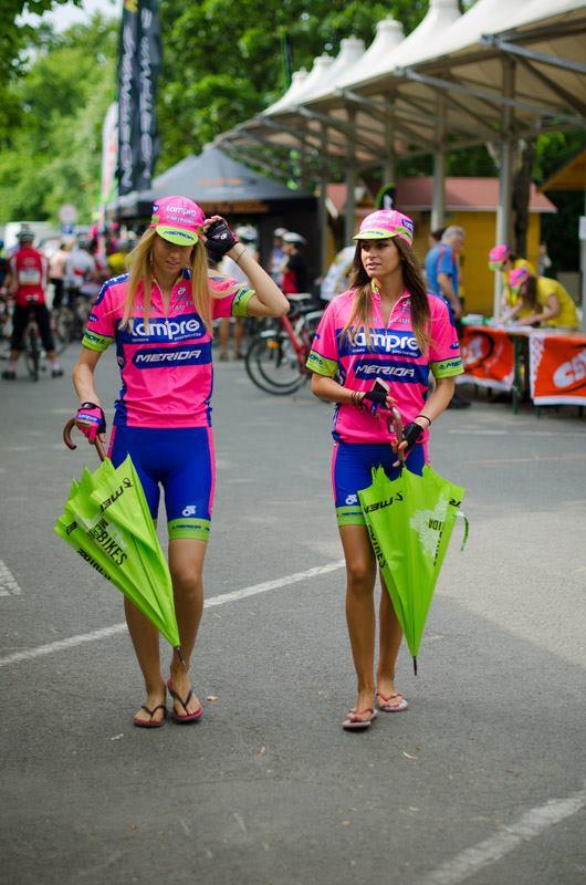 A Lampre rózsaszín nem csak a Pro Tour menőknek áll jól...