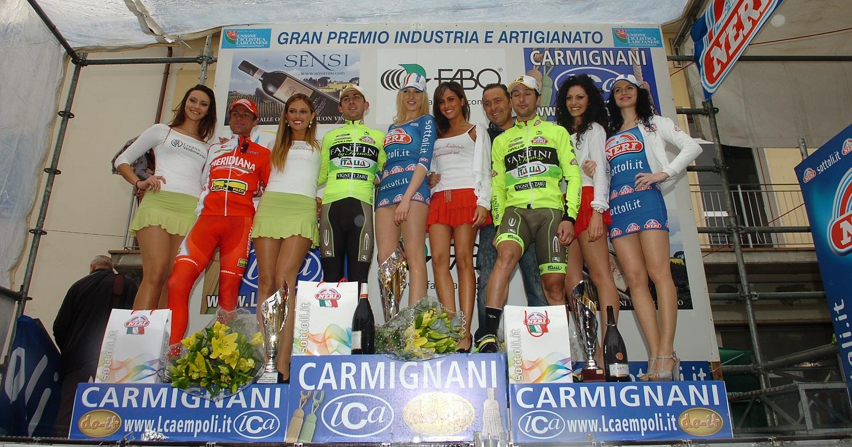 Utóbbi a második helyet azért meg tudta szerezni, bár nem sokon múlott, hogy Oscar Gatto révén két Vini Fantini-versenyző álljon a dobogó két felső fokán.