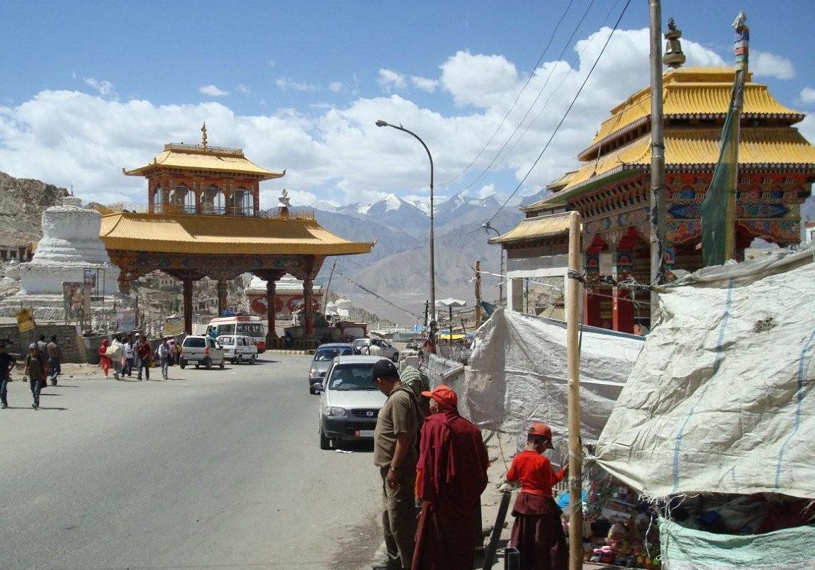Innen idulunk a tibeti kalandnak...