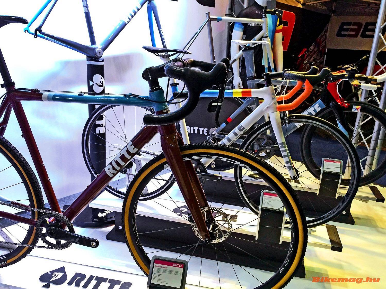 A Ridley után maradjunk a belga színeknél, de a Ritte kerékpárok csak külsőleg köthetők Belgiumhoz.