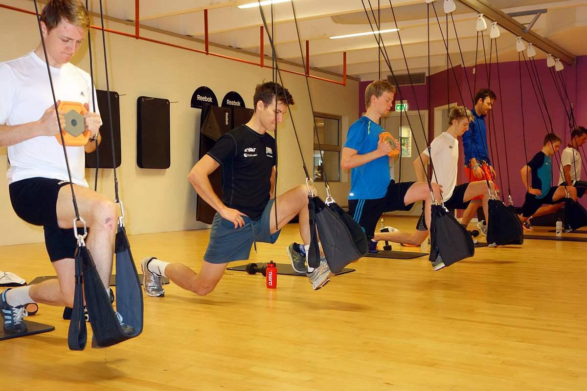 Edzés teremben