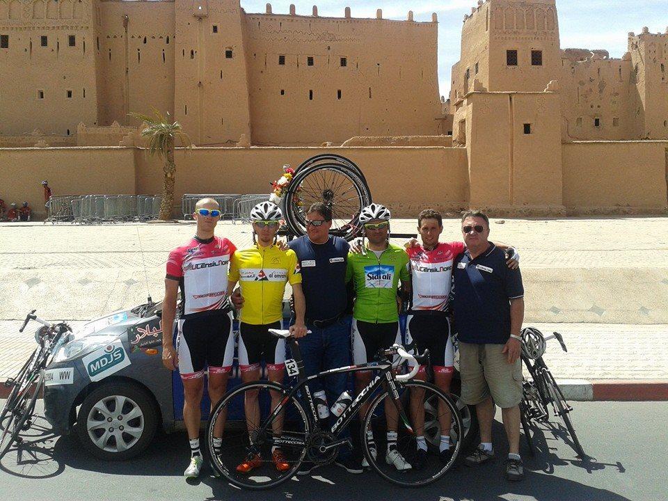 a magyar csapat a 2014-es Marokkói Körversenyen