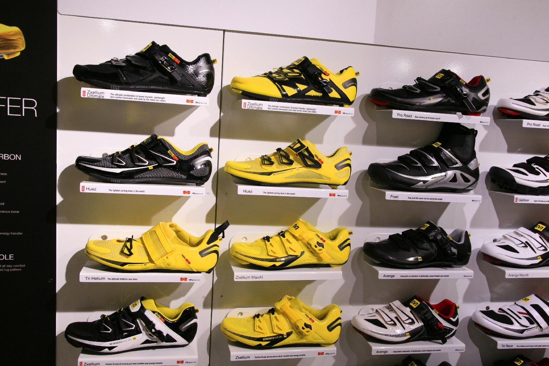 A Mavic cipőbolt az Eurobike-on