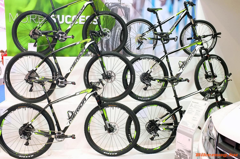 mountain bike-ok minden szinten Team festéssel