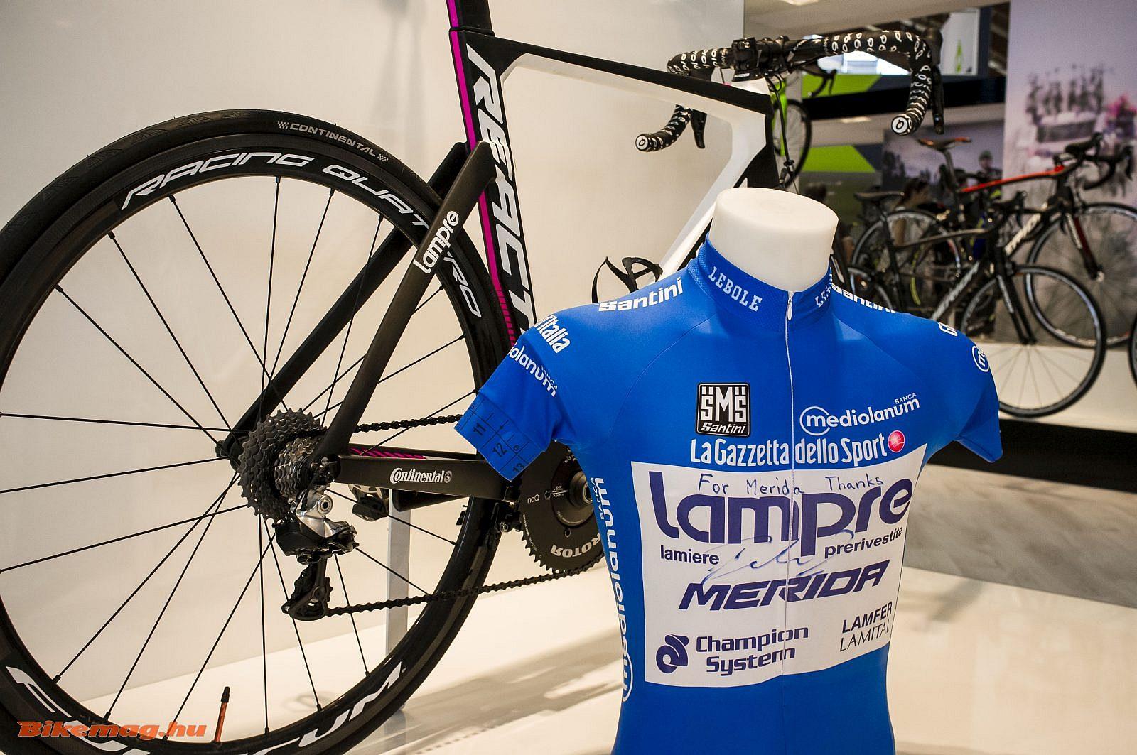 Merida Reacto - nem csak a Lampre-Merida versenyzőinek