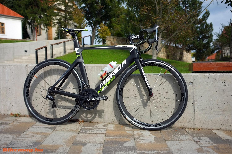 Merida Reacto DA LTD kerékpárteszt