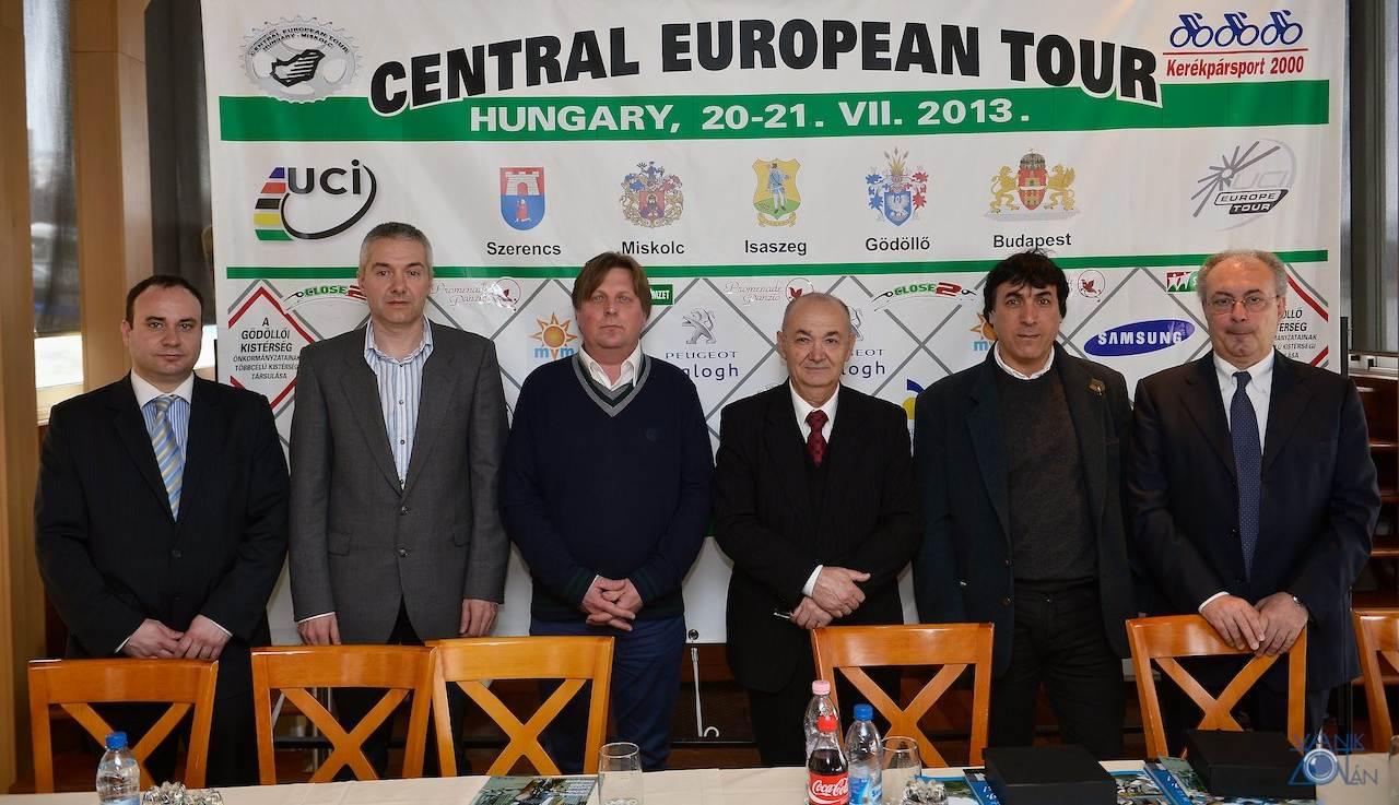 A Central European Tour sajtótájékoztatóján