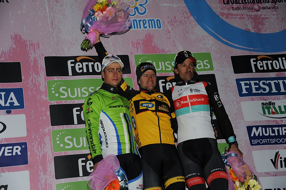 Sagan, Ciolek, Cancellara (Fotó: Stefano Sirotti - sirotti.it)