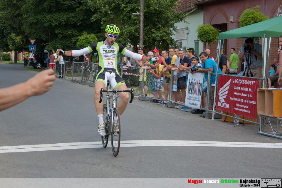 Varga Péter kritérium bajnok 2014