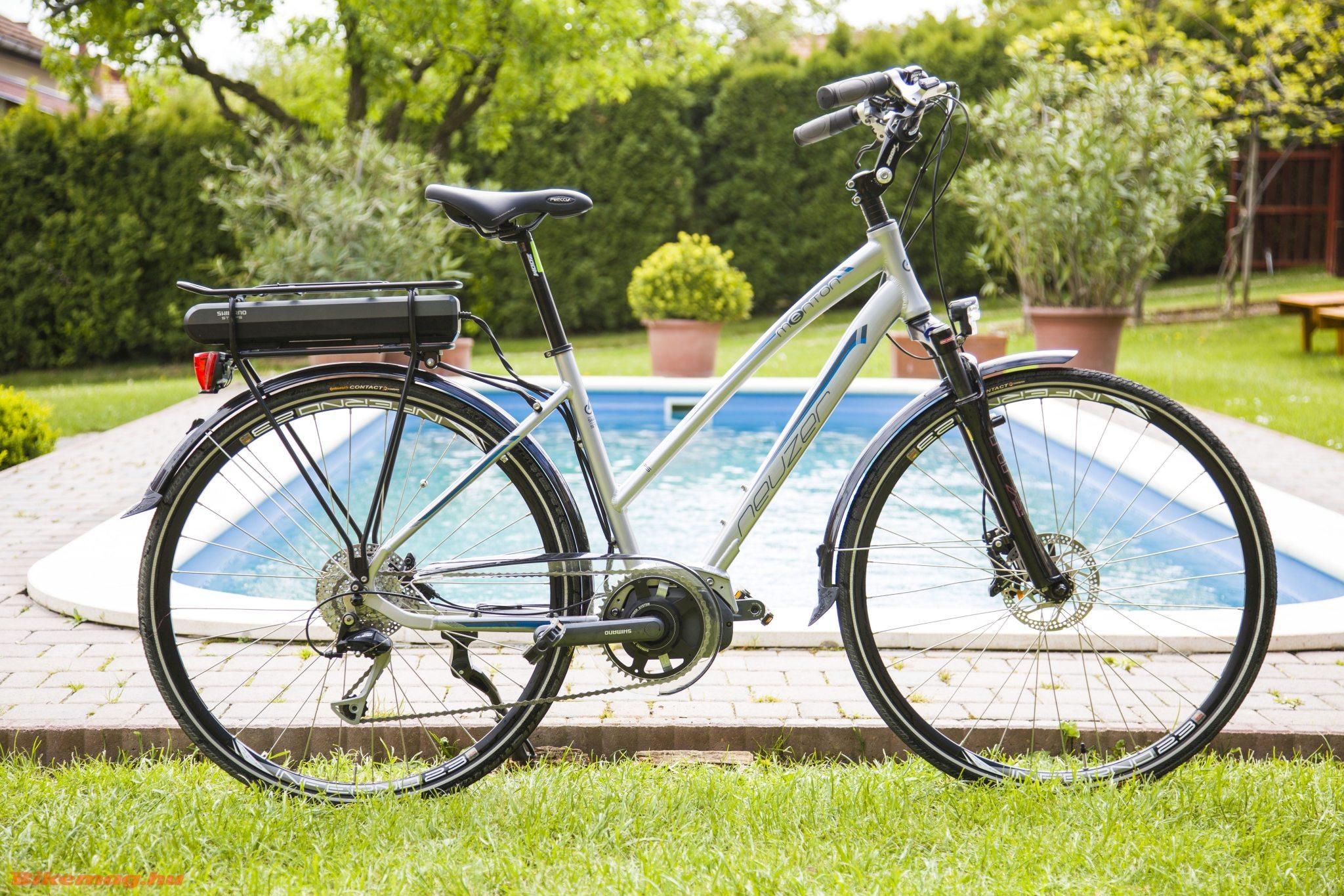 Neuzer Menton Pedelec kerékpárteszt